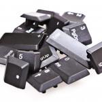 keyboard buttons heap